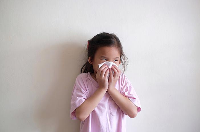 Tanda Flu pada Anak Perlu Penanganan Dokter Spesialis Anak