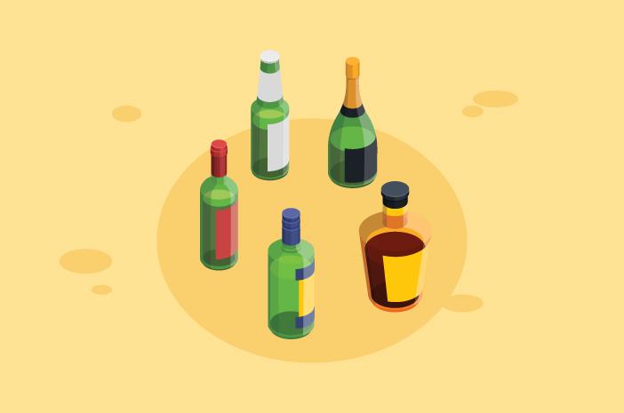Pengaruh Konsumsi Alkohol pada Kesehatan Kulit