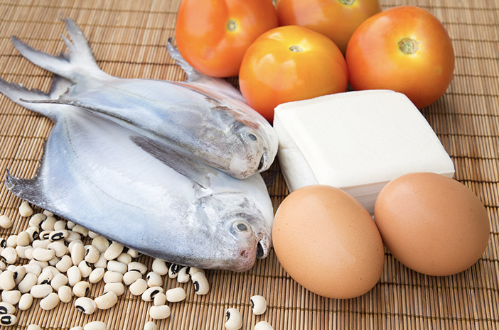ikan dan telur