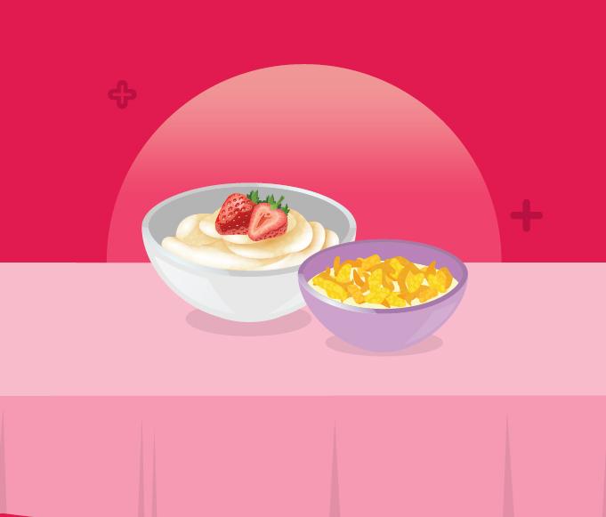 Sereal dan Oatmeal