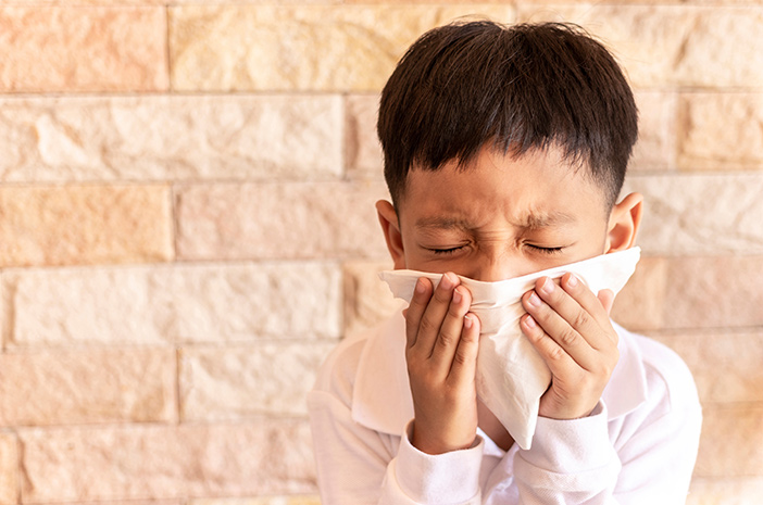 Cara Sederhana Mengatasi Pilek pada Anak