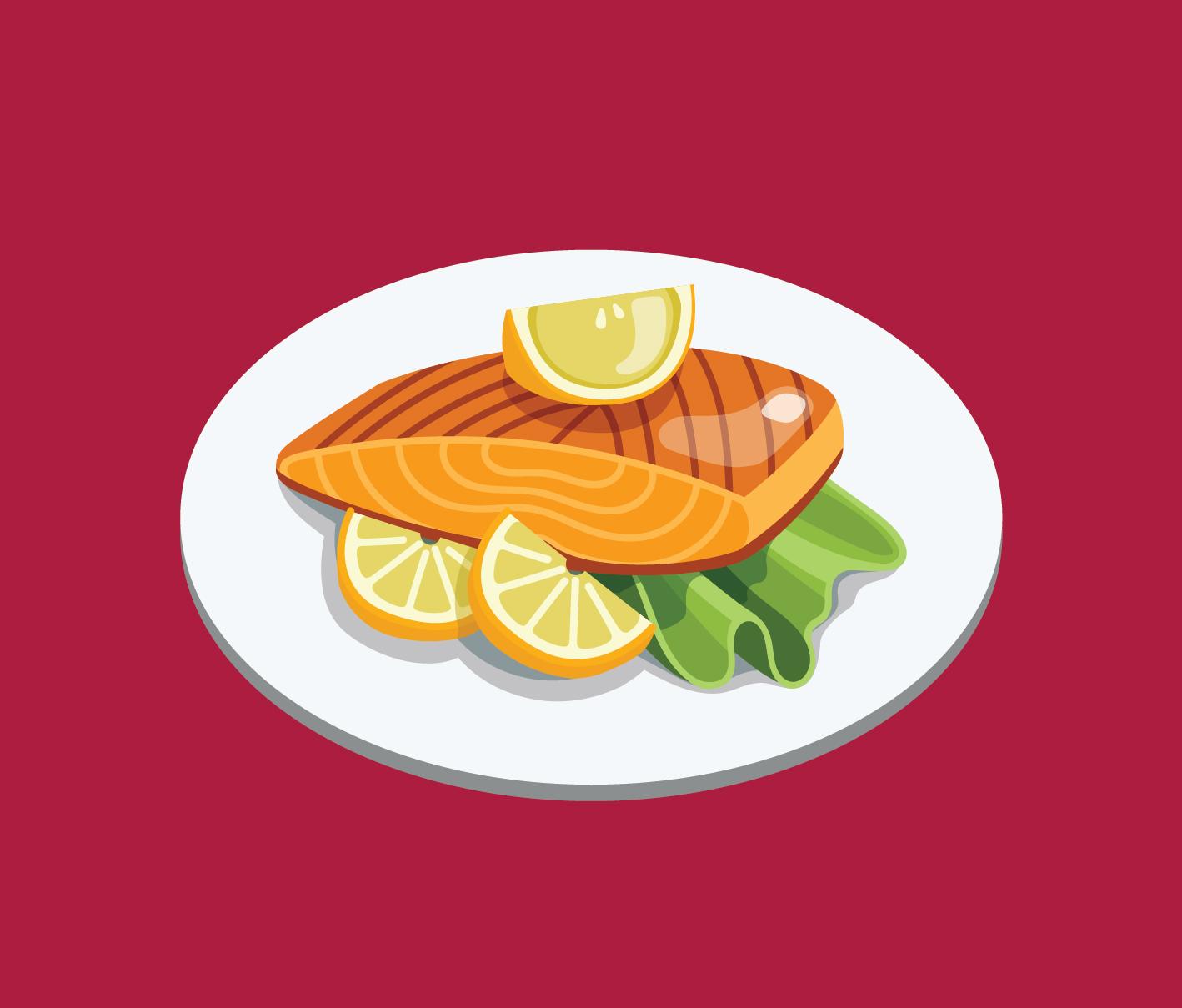 salmon panggang