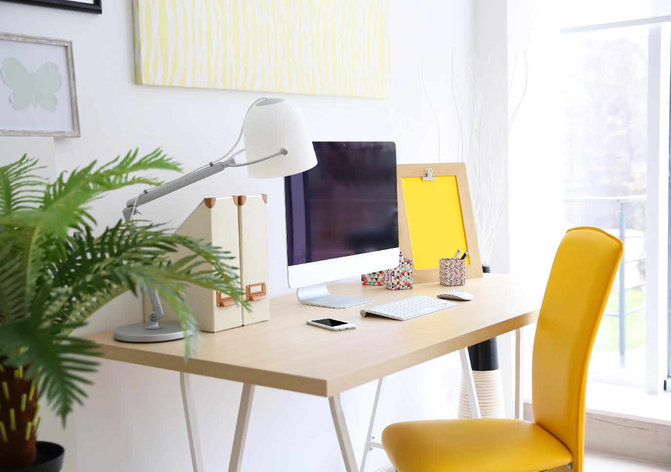 ruang kerja yang nyaman